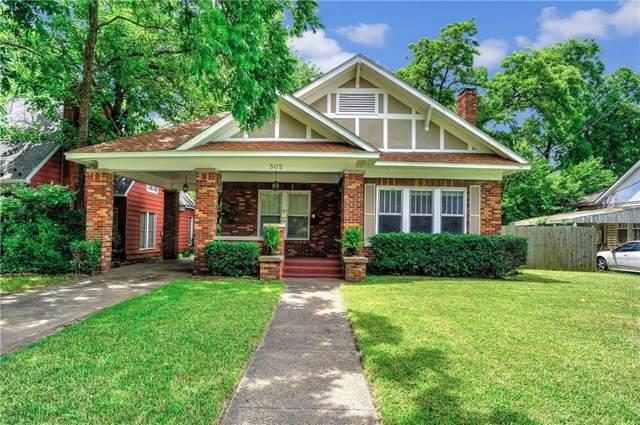 502 W Belden Street, Sherman, TX 75092 (MLS #14137432) :: Lynn Wilson with Keller Williams DFW/Southlake