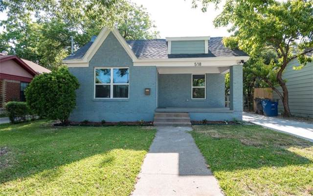 518 Marshalldell Avenue, Dallas, TX 75211 (MLS #14137439) :: RE/MAX Town & Country