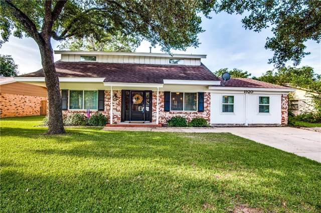 1920 Charleston Drive, Bedford, TX 76022 (MLS #14137449) :: RE/MAX Town & Country