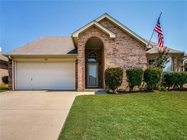4203 Bent Oaks Drive, Arlington, TX 76001 (MLS #14137566) :: The Rhodes Team