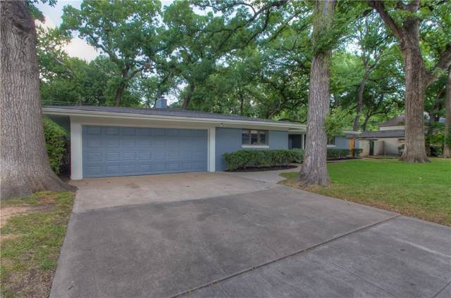 3129 Chaparral Lane, Fort Worth, TX 76109 (MLS #14137578) :: RE/MAX Town & Country