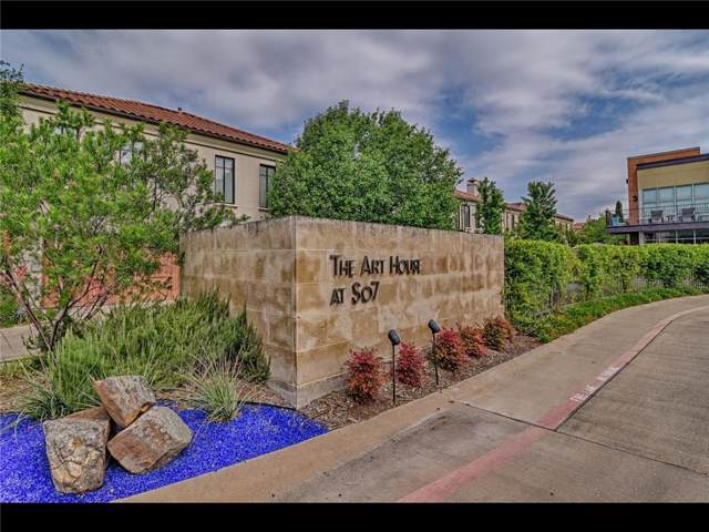 2600 Museum Way #1102, Fort Worth, TX 76107 (MLS #14137592) :: RE/MAX Town & Country