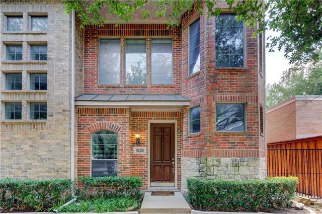 4125 Lafayette Street, Dallas, TX 75204 (MLS #14137595) :: Kimberly Davis & Associates