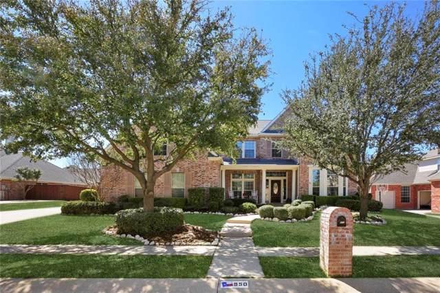 950 Willowmist Drive, Prosper, TX 75078 (MLS #14137608) :: RE/MAX Town & Country