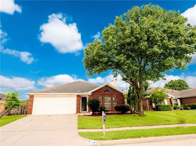 6714 Valley Branch Drive, Arlington, TX 76001 (MLS #14137614) :: RE/MAX Town & Country