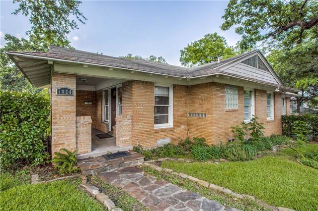 1424 Sylvan Avenue, Dallas, TX 75208 (MLS #14137665) :: RE/MAX Town & Country