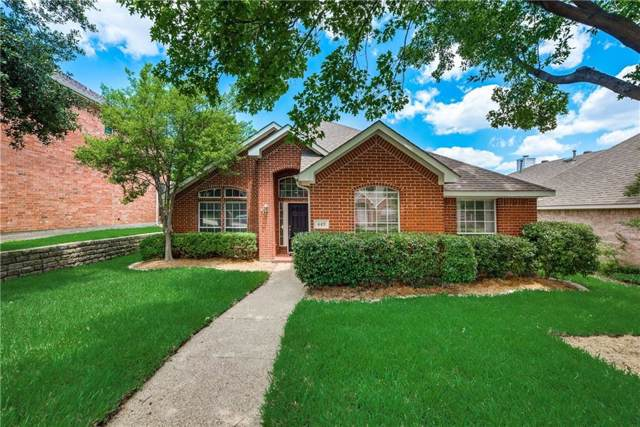 449 Vista Noche Drive, Lewisville, TX 75067 (MLS #14137700) :: RE/MAX Town & Country