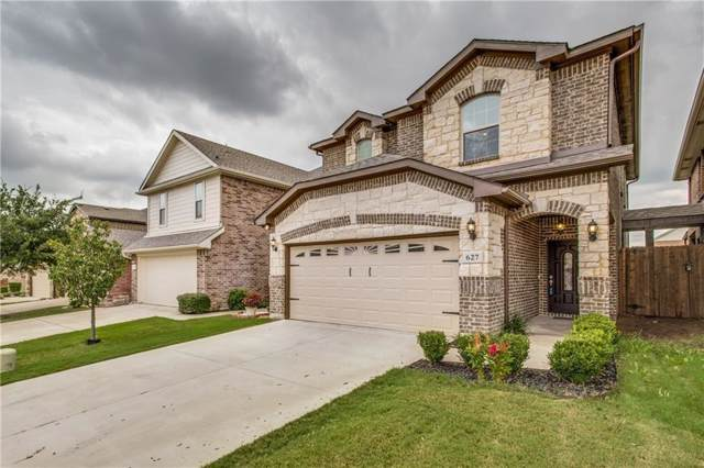 627 Fleming Street, Wylie, TX 75098 (MLS #14137712) :: RE/MAX Town & Country