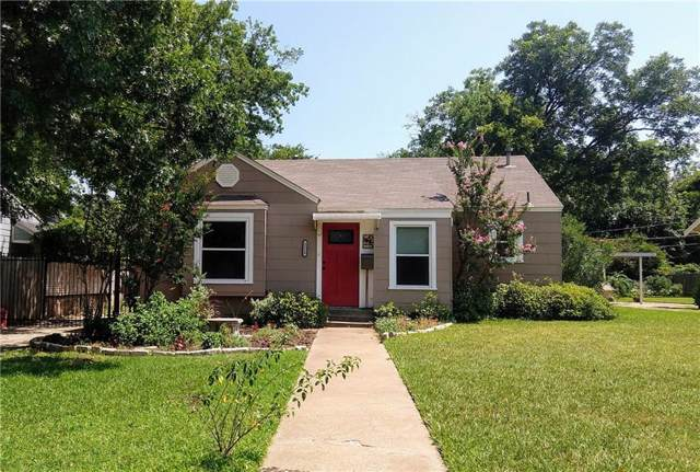 2520 Watauga Road, Fort Worth, TX 76111 (MLS #14137735) :: RE/MAX Town & Country