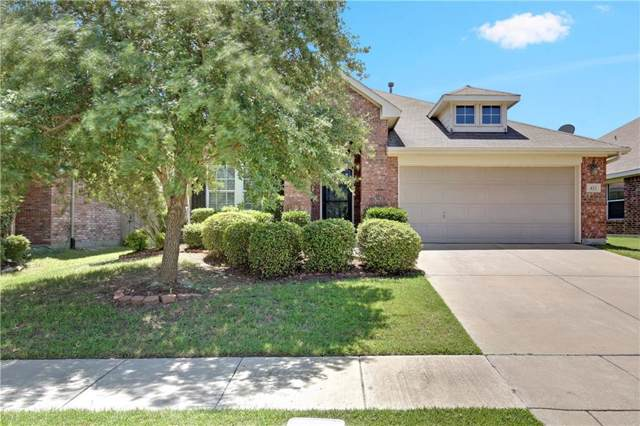 423 Hackberry Drive, Fate, TX 75087 (MLS #14137747) :: RE/MAX Town & Country