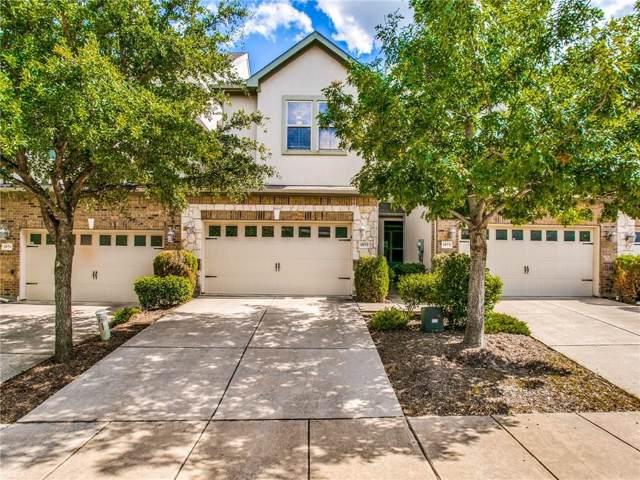 1853 Villa Drive, Allen, TX 75013 (MLS #14137785) :: The Rhodes Team