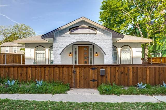 107 N Polk Street, Dallas, TX 75208 (MLS #14137797) :: RE/MAX Town & Country