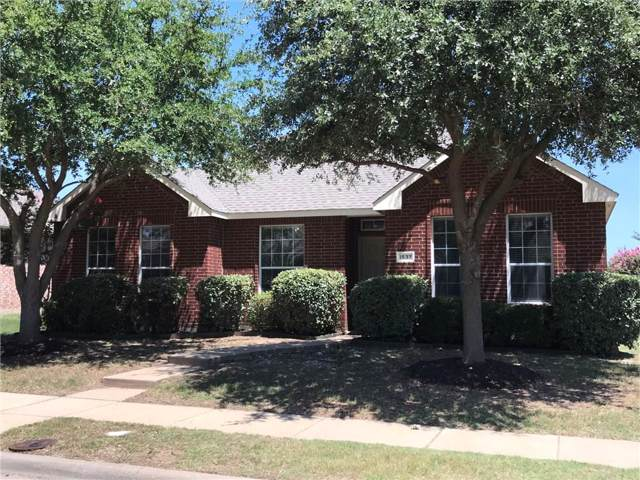 1537 Outerbridge Drive, Allen, TX 75002 (MLS #14137806) :: The Heyl Group at Keller Williams