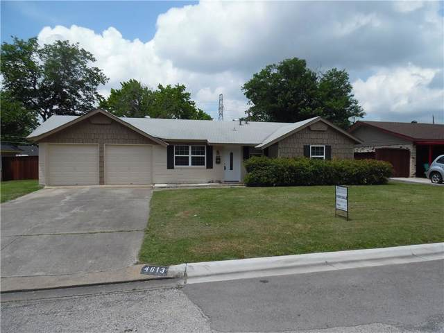 4613 Madella Street, Haltom City, TX 76117 (MLS #14137824) :: RE/MAX Town & Country
