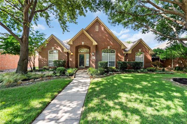 10213 Forrest Drive, Frisco, TX 75035 (MLS #14137830) :: RE/MAX Town & Country