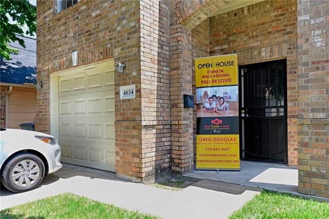 4634 Bradshaw Street, Dallas, TX 75215 (MLS #14137980) :: RE/MAX Town & Country