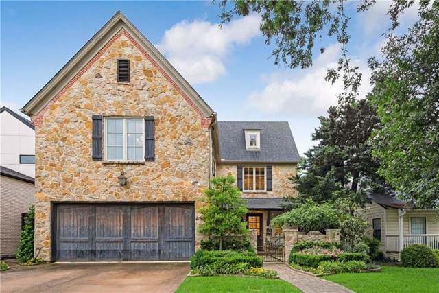 4900 W Stanford Avenue, Dallas, TX 75209 (MLS #14138034) :: RE/MAX Town & Country