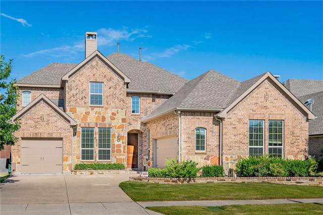 8659 Ledge Drive, Frisco, TX 75036 (MLS #14138053) :: RE/MAX Town & Country