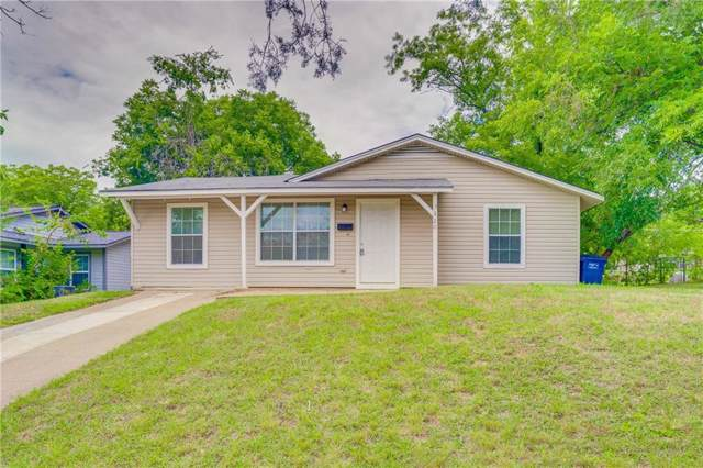 5220 Lovell Avenue, Fort Worth, TX 76107 (MLS #14138136) :: RE/MAX Town & Country
