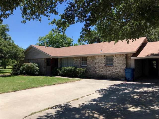 100 Fred Tunnell Street, Cross Plains, TX 76443 (MLS #14138235) :: The Heyl Group at Keller Williams