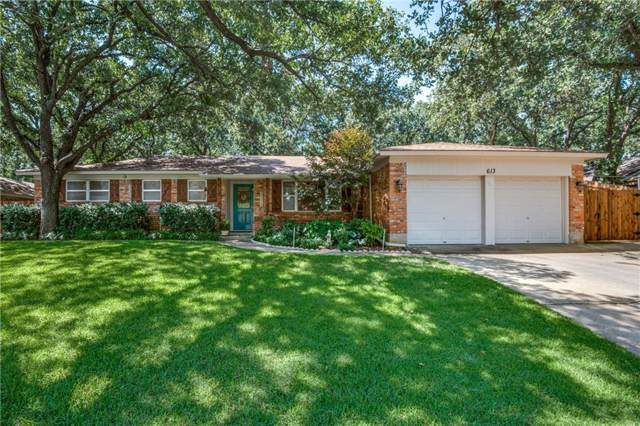 613 Circleview Drive N, Hurst, TX 76054 (MLS #14138287) :: Lynn Wilson with Keller Williams DFW/Southlake