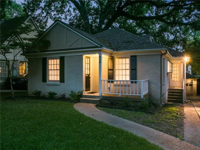 614 Blair Boulevard, Dallas, TX 75223 (MLS #14138289) :: Baldree Home Team
