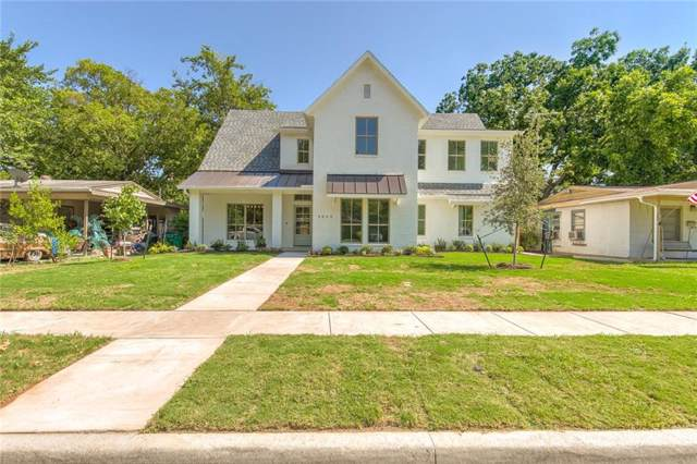 5849 Straley Avenue, Westworth Village, TX 76114 (MLS #14138351) :: RE/MAX Town & Country