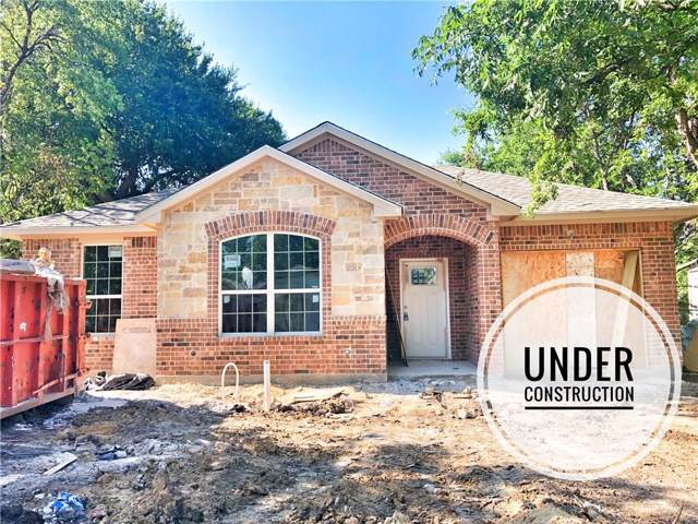1335 E Waco Avenue, Dallas, TX 75216 (MLS #14138417) :: Lynn Wilson with Keller Williams DFW/Southlake