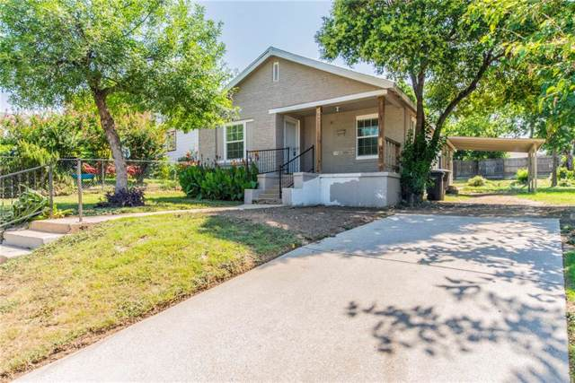 2908 Ross Avenue, Fort Worth, TX 76106 (MLS #14138446) :: The Heyl Group at Keller Williams
