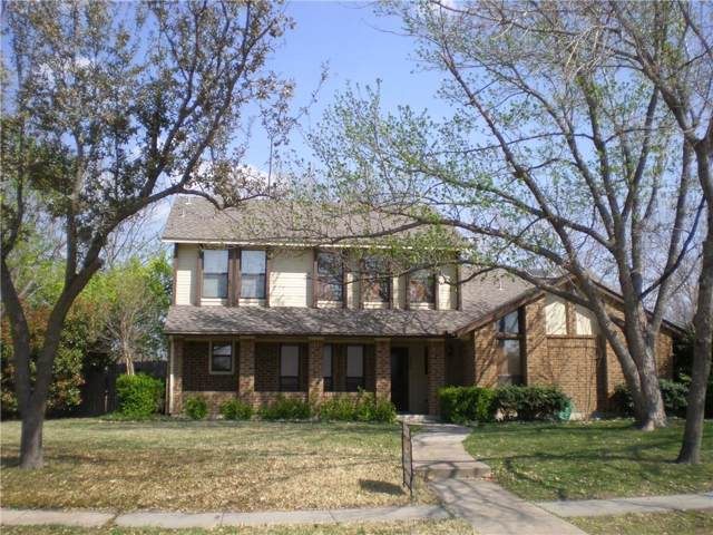 3408 Bentley Drive, Plano, TX 75093 (MLS #14138530) :: Team Tiller