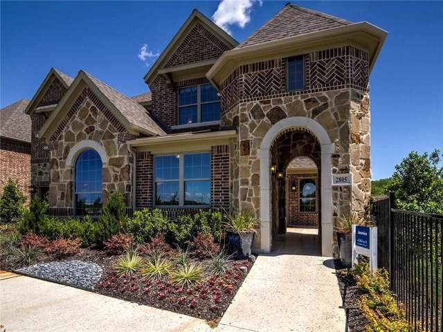 2805 Walnut Creek Lane, The Colony, TX 75056 (MLS #14138651) :: RE/MAX Town & Country