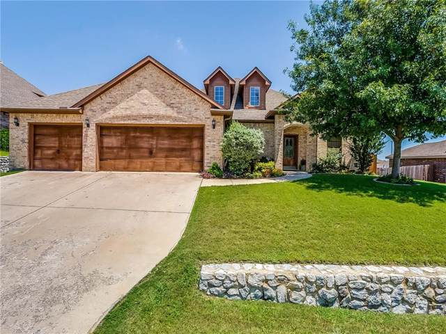 1612 Serenity Lane, Weatherford, TX 76087 (MLS #14138678) :: RE/MAX Town & Country
