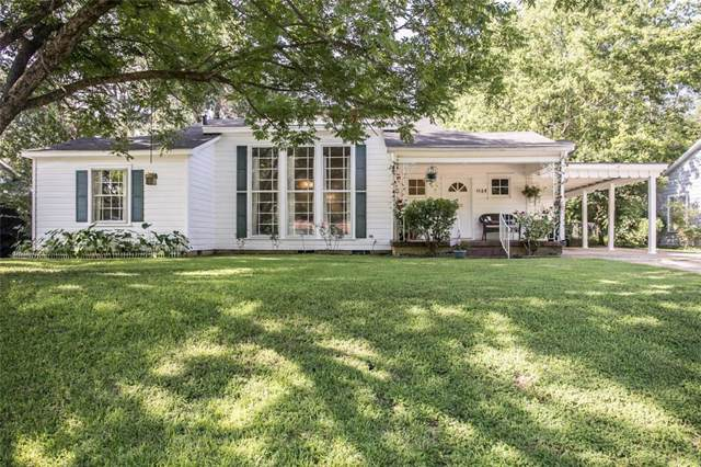 1124 W Camellia Street, Tyler, TX 75701 (MLS #14138719) :: RE/MAX Town & Country