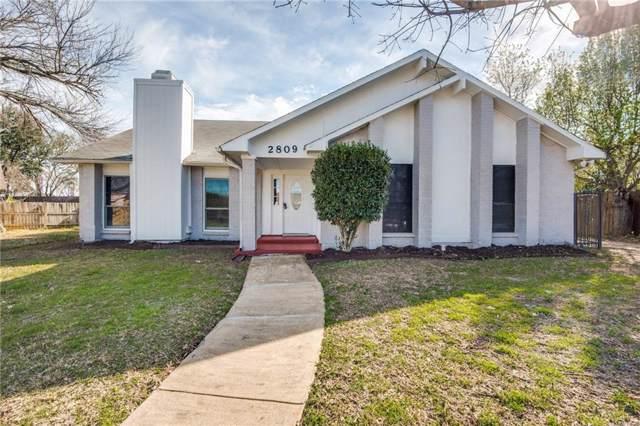 2809 Hamlett Lane, Flower Mound, TX 75028 (MLS #14138722) :: Lynn Wilson with Keller Williams DFW/Southlake