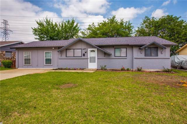 4937 Tracy Drive, Haltom City, TX 76117 (MLS #14138737) :: RE/MAX Town & Country