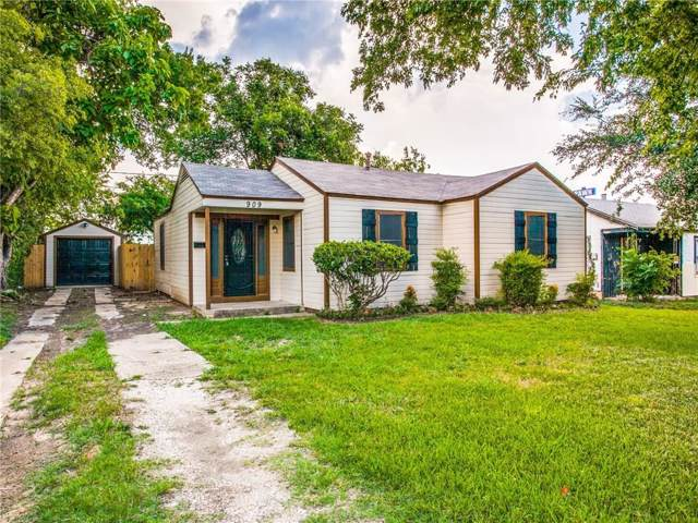 909 E Devitt Street, Fort Worth, TX 76110 (MLS #14138819) :: RE/MAX Town & Country