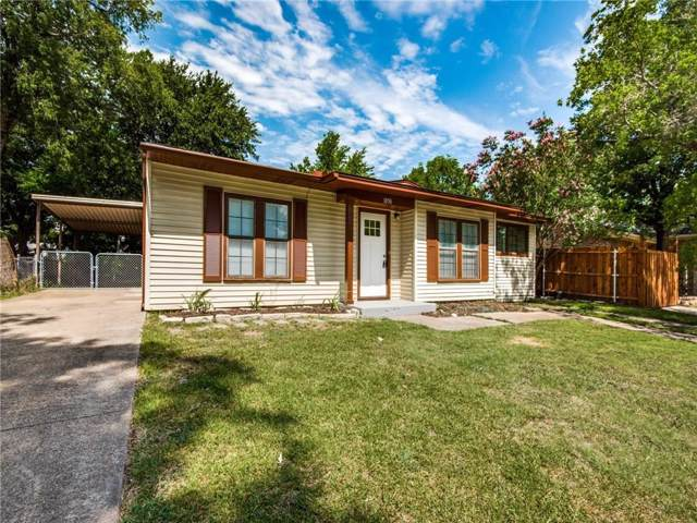 1050 Indian Hills Drive, Grand Prairie, TX 75051 (MLS #14138838) :: Lynn Wilson with Keller Williams DFW/Southlake
