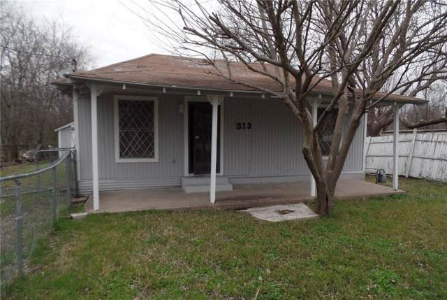 313 James Street, Terrell, TX 75160 (MLS #14138864) :: Kimberly Davis & Associates