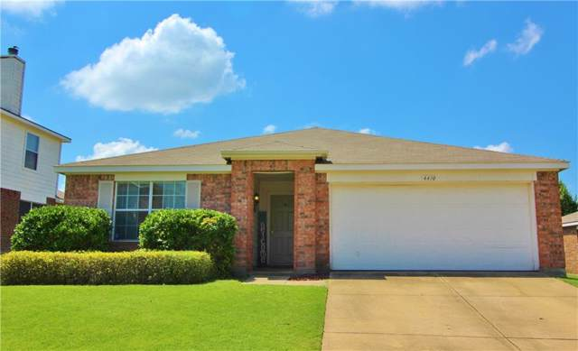 4410 Falcon Drive, Sherman, TX 75092 (MLS #14138908) :: RE/MAX Town & Country