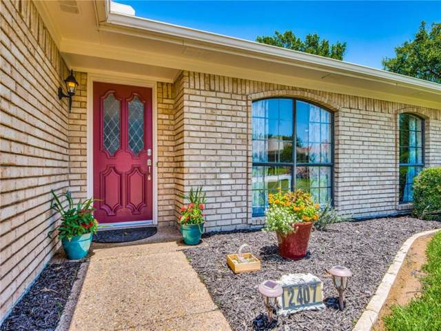 2407 Old Mill Road, Dallas, TX 75287 (MLS #14139017) :: Baldree Home Team