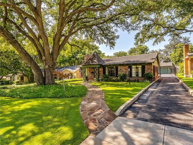 3828 Hilltop Road, Fort Worth, TX 76109 (MLS #14139057) :: RE/MAX Town & Country