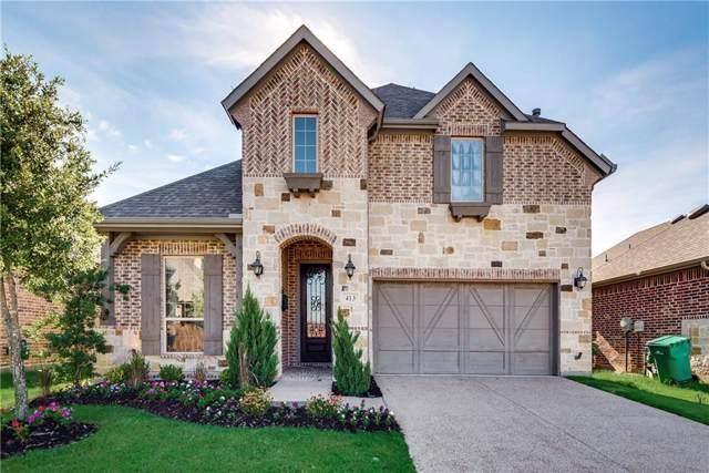 413 Winehart Street, The Colony, TX 75056 (MLS #14139072) :: Camacho Homes