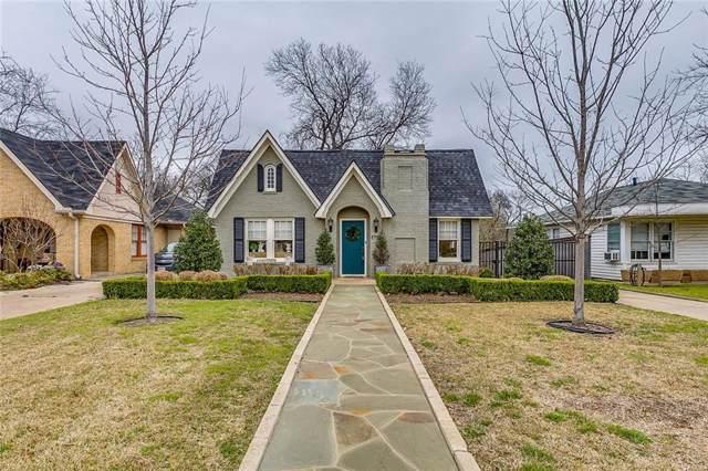 2117 Ashland Avenue, Fort Worth, TX 76107 (MLS #14139199) :: Kimberly Davis & Associates