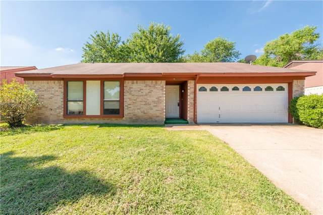 1905 Steinburg Lane, Fort Worth, TX 76134 (MLS #14139207) :: RE/MAX Town & Country