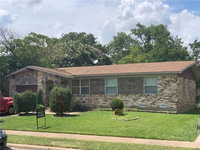 4717 Cornell Drive, Garland, TX 75042 (MLS #14139285) :: RE/MAX Town & Country