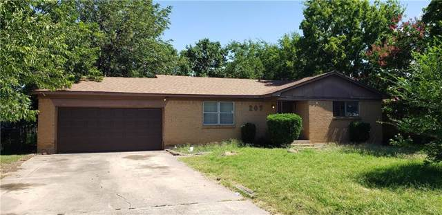 207 Tanco Lane, Duncanville, TX 75116 (MLS #14139428) :: RE/MAX Town & Country