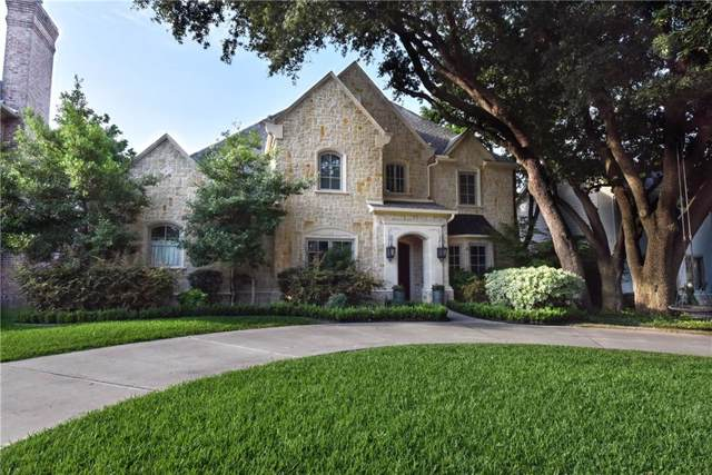 6831 Chevy Chase Avenue, Dallas, TX 75225 (MLS #14139470) :: RE/MAX Town & Country