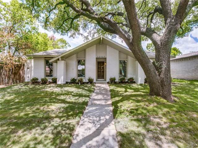 10909 Wallbrook Drive, Dallas, TX 75238 (MLS #14139487) :: The Hornburg Real Estate Group
