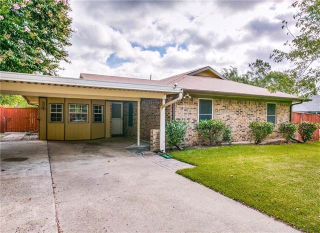 1714 Parkhaven Drive, Seagoville, TX 75159 (MLS #14139502) :: Lynn Wilson with Keller Williams DFW/Southlake