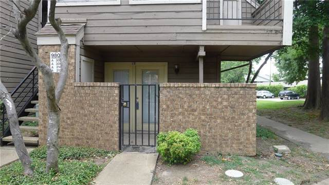 9801 Walnut Street #112, Dallas, TX 75243 (MLS #14139564) :: The Rhodes Team
